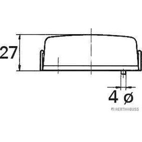 HERTH+BUSS ELPARTS Outline Lamp (82710297) at low price