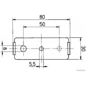 HERTH+BUSS ELPARTS Begrenzungsleuchte, Art. Nr.: 82710301