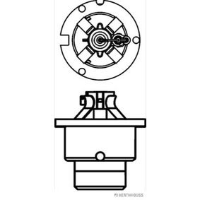 HERTH+BUSS ELPARTS Glühlampe, Hauptscheinwerfer 9098120028 für TOYOTA bestellen