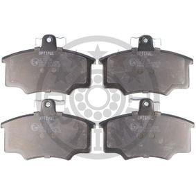 OPTIMAL Motordämpfer 9365 für AUDI 80 1.8 GTE quattro (85Q) 110 PS kaufen
