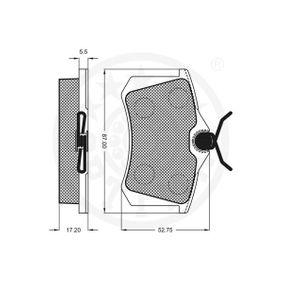 AUDI A4 (8E2, B6) OPTIMAL Hauptscheinwerfer Einzelteile 9540 bestellen