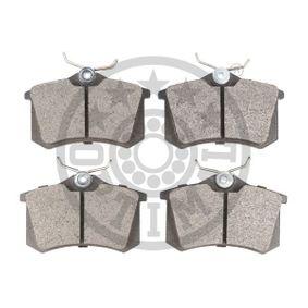 OPTIMAL Jogo de pastilhas para travão de disco 1E0698451 para VW, AUDI, FORD, SEAT, SKODA compra