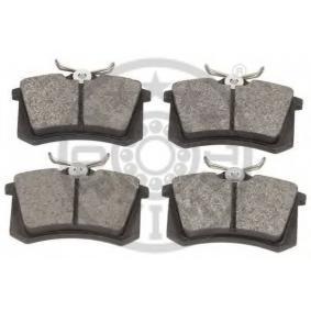 OPTIMAL Bromsbeläggssats, skivbroms 1E0698451 för VW, AUDI, FORD, SKODA, SEAT köp