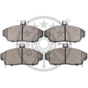 OPTIMAL Комплект спирачно феродо, дискови спирачки GBP90313 за SKODA, ROVER, MG купете