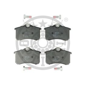 Bromsbeläggssats, skivbroms OPTIMAL Art.No - 10094 OEM: 1E0698451 för VW, AUDI, FORD, SKODA, SEAT köp