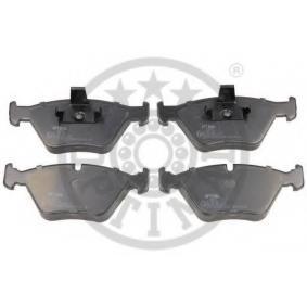 Bremsbelagsatz, Scheibenbremse OPTIMAL Art.No - 10279 OEM: 34112157588 für BMW kaufen