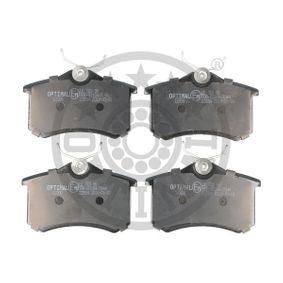 Bremseklodser OPTIMAL Art.No - 12208 OEM: 425420 til VW, PEUGEOT, FORD, CITROЁN, AUDI erhverv