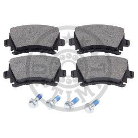 OPTIMAL Bremsbelagsatz, Scheibenbremse 4F0698451D für VW, AUDI, SKODA, SEAT, HONDA bestellen