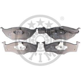 Bremsbelagsatz, Scheibenbremse OPTIMAL Art.No - 71811 OEM: 8Z0698151 für VW, AUDI, SKODA, SEAT kaufen