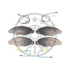 OPTIMAL Bremsbelagsatz, Scheibenbremse 34116794916 für BMW bestellen