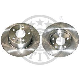 Bremsscheibe OPTIMAL Art.No - BS-5780 OEM: 9117772 für OPEL, CHEVROLET, DAEWOO, CADILLAC, ISUZU kaufen