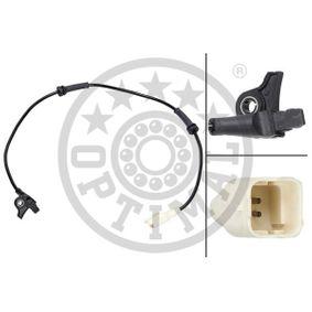 Sensor, Raddrehzahl OPTIMAL Art.No - 06-S021 OEM: 9635384780 für PEUGEOT, CITROЁN kaufen