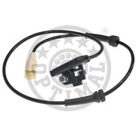 OPTIMAL Sensor, Raddrehzahl 9658420780 für PEUGEOT, CITROЁN bestellen