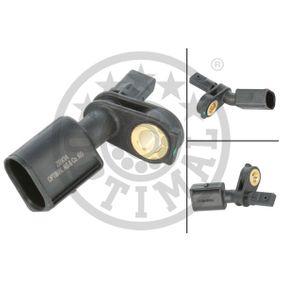 Sensor, Raddrehzahl OPTIMAL Art.No - 06-S057 OEM: WHT003861 für VW, AUDI, SKODA, SEAT, PORSCHE kaufen