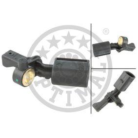 Sensor, Raddrehzahl OPTIMAL Art.No - 06-S061 OEM: WHT003863 für VW, AUDI, SKODA, SEAT, PORSCHE kaufen