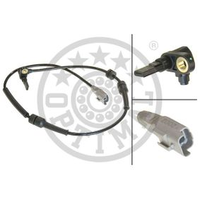 Sensor, Raddrehzahl OPTIMAL Art.No - 06-S191 OEM: 1493882080 für FIAT, PEUGEOT, CITROЁN, ALFA ROMEO, LANCIA kaufen