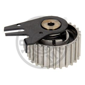 OPTIMAL Tensioner Pulley, timing belt 55183527 for VAUXHALL, OPEL, FIAT, LAND ROVER, ALFA ROMEO acquire