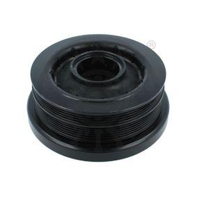 BMW X5 3.0 d 235 CV año de fabricación 02.2007 - Polea de Cigüeñal (F8-7641) OPTIMAL Tienda online