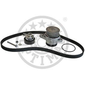 OPTIMAL Pompa Acqua + Kit Cinghia Distribuzione SK-1131AQ1 per VW POLO 1.4 60 CV comprare