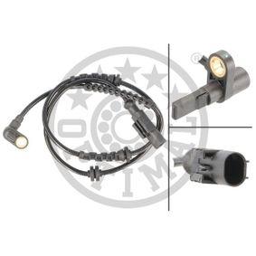 Sensor, Raddrehzahl OPTIMAL Art.No - 06-S276 OEM: 55700425 für OPEL, FIAT, ALFA ROMEO, LANCIA, ABARTH kaufen