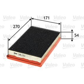 Filtro de aire VALEO (585213) para FIAT STILO precios