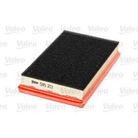 Filtro de aire (585213) fabricante VALEO para FIAT STILO (192) año de fabricación 01/2004, 140 CV Tienda online