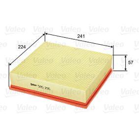 Luftfilter VALEO Art.No - 585295 OEM: 6172024 für FORD kaufen