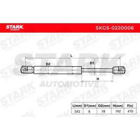 Kofferraum Stoßdämpfer SKGS-0220006 STARK