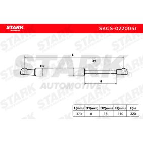 STARK Heckklappendämpfer / Gasfeder 51247060623 für BMW, MINI bestellen