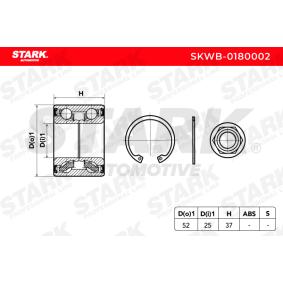 TWINGO II (CN0_) STARK Radnabe SKWB-0180002