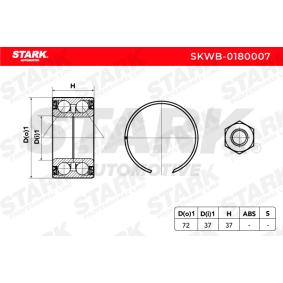 STARK SKWB-0180007 Radlagersatz OEM - 7701464049 RENAULT, DACIA, SANTANA, RENAULT TRUCKS, AE, A.B.S., sbs, OEMparts, BTA günstig
