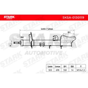 ALFA ROMEO 156 2.0 16V T.SPARK (932A2) 155 CV ano de fabrico 09.1997 - Amortecedores (SKSA-0130119) STARK Loja web