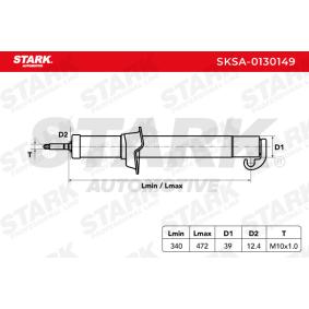 ALFA ROMEO 156 2.0 16V T.SPARK (932A2) 155 CV ano de fabrico 09.1997 - Amortecedores (SKSA-0130149) STARK Loja web