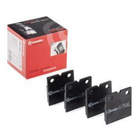 Bremsbelagsatz, Scheibenfeststellbremse BREMBO Art.No - P 02 001 OEM: 100346000B für TESLA kaufen