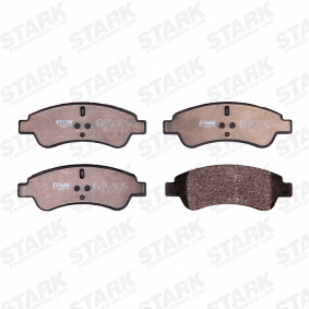 STARK SKBP-0010048 Brake Pad Set, disc brake OEM - 1613192280 CITROËN, PEUGEOT, PIAGGIO, HELLA, CITROËN/PEUGEOT, GLASER, SCT Germany, DS cheaply