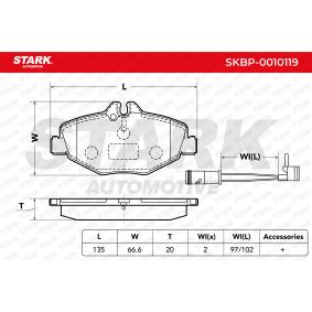E-osztály Sedan (W211) STARK Kormánykar SKBP-0010119