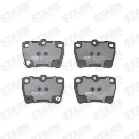 RAV 4 II (CLA2_, XA2_, ZCA2_, ACA2_) STARK Brake pad set disc brake SKBP-0010223