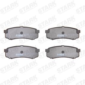 4605A458 für TOYOTA, MITSUBISHI, SATURN, Bremsbelagsatz, Scheibenbremse STARK (SKBP-0010231) Online-Shop