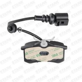 JZW698451F für VW, AUDI, SKODA, SEAT, Bremsbelagsatz, Scheibenbremse STARK (SKBP-0010366) Online-Shop