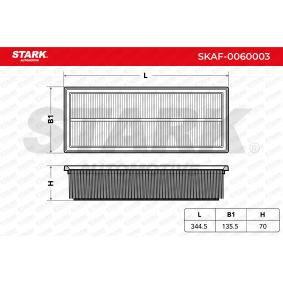 STARK Luftfilter 1K0129620D für VW, AUDI, SKODA, SEAT, PORSCHE bestellen