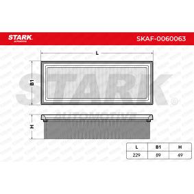 7759323 für FORD, FIAT, ALFA ROMEO, LANCIA, IVECO, Luftfilter STARK (SKAF-0060063) Online-Shop