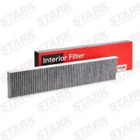 STARK Filter, Innenraumluft 1491752 für VW, AUDI, FORD, SKODA, SEAT bestellen