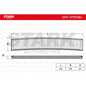 STARK Filter, Innenraumluft 64319257504 für BMW, MAZDA, ALPINA bestellen