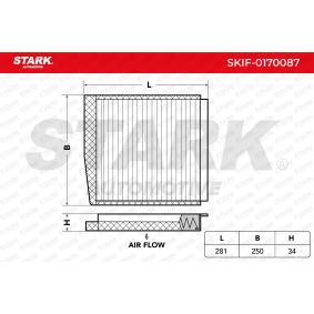STARK SKIF-0170087 Filter, Innenraumluft OEM - 30630755 VOLVO günstig