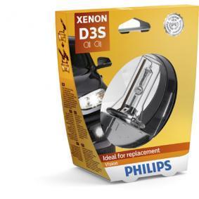 PHILIPS Крушка с нагреваема жичка, фар за дълги светлини (42403VIS1) на ниска цена