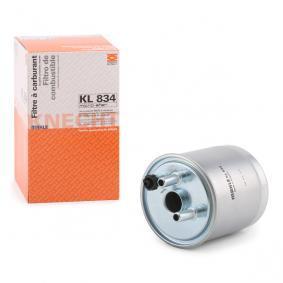 TWINGO II (CN0_) MAHLE ORIGINAL Dieselfilter KL 834