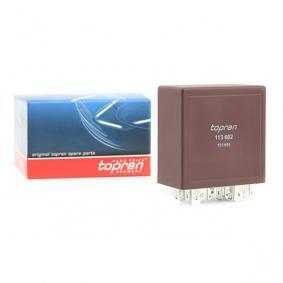 4B0955531C für VW, AUDI, SKODA, SEAT, Relais, Wisch-Wasch-Intervall TOPRAN (113 602) Online-Shop