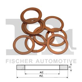 N138492 за VW, AUDI, SKODA, SEAT, Уплътнителен пръстен, пробка за източване на маслото FA1 (259.150.100) Онлайн магазин