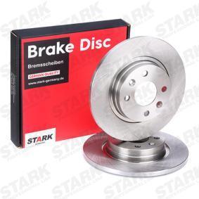 8200123117 für RENAULT, DACIA, RENAULT TRUCKS, Bremsscheibe STARK (SKBD-0020080) Online-Shop