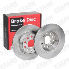 5Q0615601G за VW, AUDI, SKODA, SEAT, Спирачен диск STARK (SKBD-0020141) Онлайн магазин
